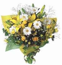 Samsun hediye sevgilime hediye çiçek  Lilyum ve mevsim çiçekleri