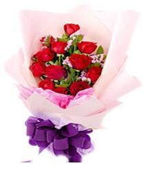 7 gülden kirmizi gül buketi sevenler alsin  Samsun online çiçek gönderme sipariş