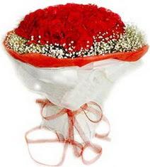 Samsun güvenli kaliteli hızlı çiçek  41 adet kirmizi gül buketi