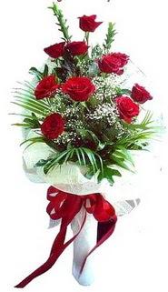 Samsun hediye sevgilime hediye çiçek  10 adet kirmizi gül buketi demeti