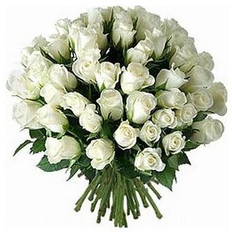 Samsun ucuz çiçek gönder  33 adet beyaz gül buketi
