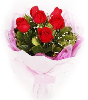 Samsun çiçek satışı  kırmızı 6 adet gülden buket