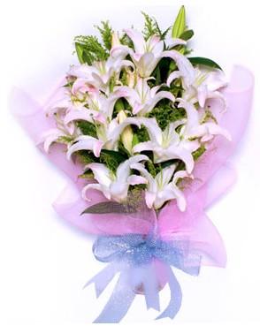5 dal kazablankadan muhteşem buket  Samsun çiçek online çiçek siparişi