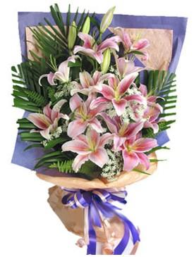 7 dal kazablankadan görsel buket  Samsun çiçekçi mağazası