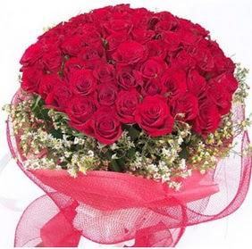 Samsun çiçekçiler  29 adet kırmızı gülden buket