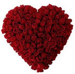 Samsun çiçek servisi , çiçekçi adresleri  muhteşem kırmızı güllerden kalp çiçeği