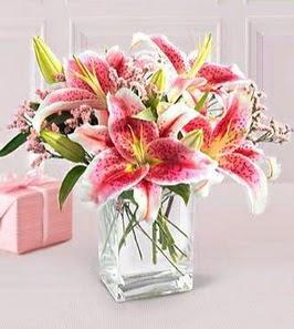 2 dal kazablanka görsel vazosu  Samsun çiçek mağazası , çiçekçi adresleri