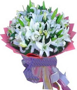 7 dal cazablanca görsel buketi  Samsun çiçek servisi , çiçekçi adresleri
