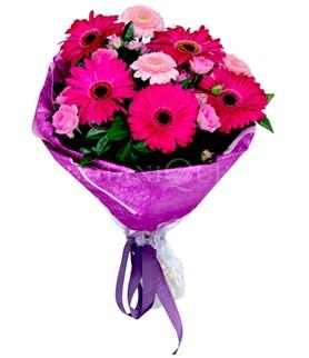 Samsun çiçek mağazası , çiçekçi adresleri  karışık gerbera çiçeği buketi