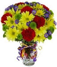 En güzel hediye karışık mevsim çiçeği  Samsun çiçek online çiçek siparişi