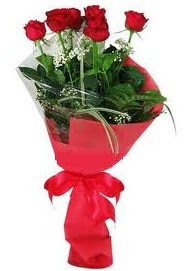 Çiçek yolla sitesinden 7 adet kırmızı gül  Samsun kaliteli taze ve ucuz çiçekler