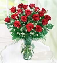 Samsun kaliteli taze ve ucuz çiçekler  9 adet mika yada vazoda kirmizi güller