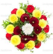 Samsun çiçek servisi , çiçekçi adresleri  13 adet mevsim çiçeğinden görsel buket