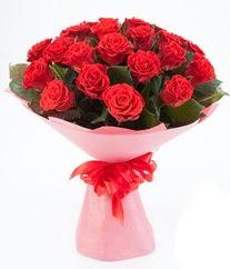 15 adet kırmızı gülden buket tanzimi  Samsun çiçek mağazası , çiçekçi adresleri