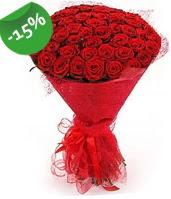 51 adet kırmızı gül buketi özel hissedenlere  Samsun çiçek mağazası , çiçekçi adresleri