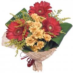 karışık mevsim buketi  Samsun çiçek servisi , çiçekçi adresleri