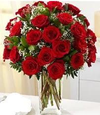 Vazo içerisinde 33 adet kırmızı gül  Samsun İnternetten çiçek siparişi