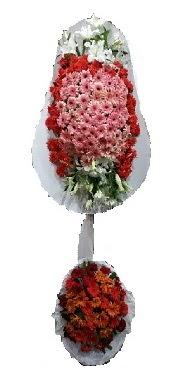 çift katlı düğün açılış sepeti  Samsun kaliteli taze ve ucuz çiçekler