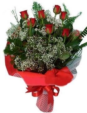 7 kırmızı gül buketi  Samsun ucuz çiçek gönder