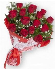 11 kırmızı gülden buket  Samsun çiçek siparişi sitesi
