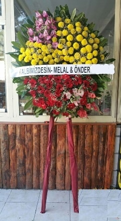 Samsun çiçekçi telefonları  Cenaze çiçek modeli