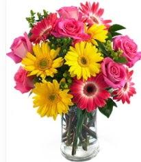 Vazoda Karışık mevsim çiçeği  Samsun çiçek servisi , çiçekçi adresleri