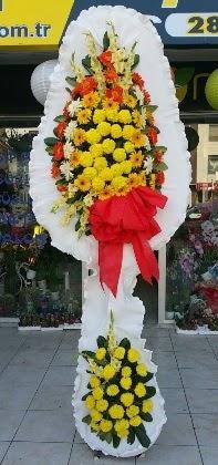 Çift katlı düğün nikah açılış çiçeği  Samsun çiçek siparişi sitesi