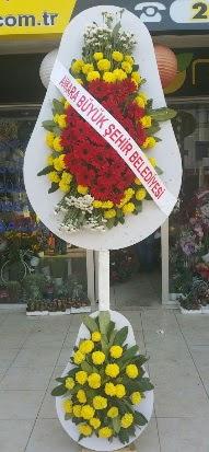 Çift katlı düğün nikah açılış çiçek modeli  Samsun çiçek servisi , çiçekçi adresleri