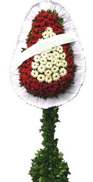 Çift katlı düğün nikah açılış çiçek modeli  Samsun çiçek siparişi vermek