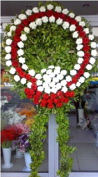 Cenaze çelenk çiçeği modeli  Samsun çiçekçi telefonları