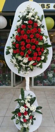 2 katlı nikah çiçeği düğün çiçeği  Samsun cicekciler , cicek siparisi