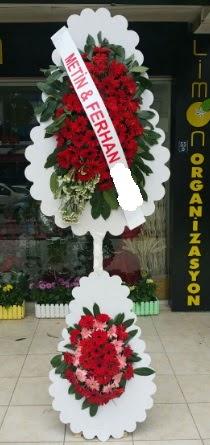 Çift katlı düğün nikah çiçeği modeli  Samsun çiçek mağazası , çiçekçi adresleri