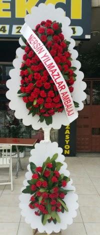 Çift katlı düğün nikah çiçeği modeli  Samsun çiçek online çiçek siparişi