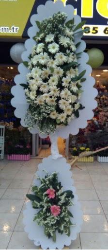 Çift katlı düğün nikah açılış çiçeği  Samsun uluslararası çiçek gönderme