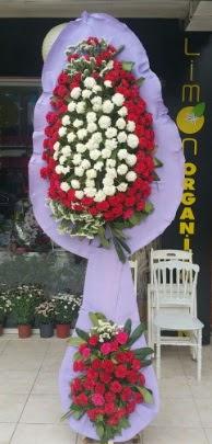 Çift katlı işyeri açılış çiçek modeli  Samsun hediye sevgilime hediye çiçek
