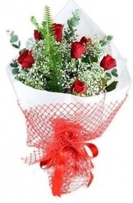 7 adet gülden kız arkadaşıma çiçek  Samsun uluslararası çiçek gönderme