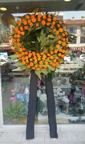 Cenaze çiçeği cenaze çelengi çiçek modeli  Samsun cicekciler , cicek siparisi