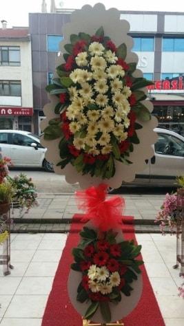 Çift katlı düğün açılış çiçeği  Samsun 14 şubat sevgililer günü çiçek