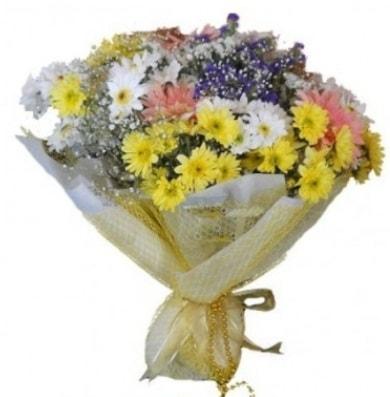Karışık mevsim çiçeği  Samsun 14 şubat sevgililer günü çiçek