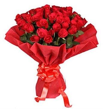 41 adet gülden görsel buket  Samsun 14 şubat sevgililer günü çiçek