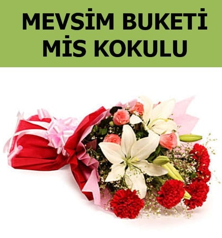 Karışık mevsim buketi mis kokulu bahar  Samsun hediye sevgilime hediye çiçek
