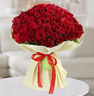 101 adet kırmızı gül buketi koca demet  Samsun yurtiçi ve yurtdışı çiçek siparişi