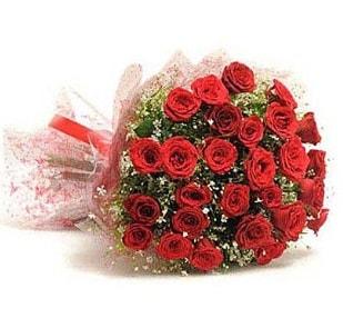 27 Adet kırmızı gül buketi  Samsun hediye sevgilime hediye çiçek