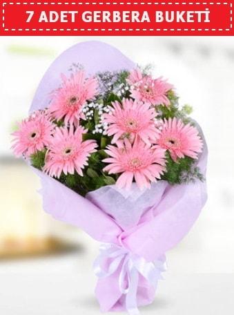 Pembe Gerbera Buketi  Samsun anneler günü çiçek yolla