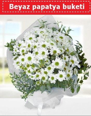 Beyaz Papatya Buketi  Samsun çiçek gönderme
