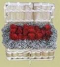 Samsun çiçek gönderme sitemiz güvenlidir  Sandikta 11 adet güller - sevdiklerinize en ideal seçim